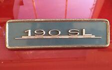 Mercedes Benz 190sl Radio Delete Plate