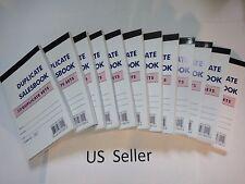 "24X-Sales Book Order Receipt Invoice Carbon less 50 sets 3.5""x5.5"" US Seller"