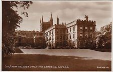 New College From The Gardens, OXFORD, Oxfordshire RP