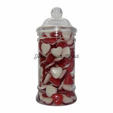 Haribo Heart Throbs Victorian Sweet Jar Love Retro Wedding Party Treat Gifts
