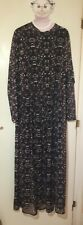 Simply Be Long Sleeve Plus Maxi Dress Size 20