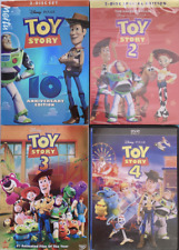Toy Story 1-4 Complete Series Dvd Bundle Set free Shipping 1 2 3 4