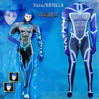 US! Fate EXTELLA Slim Tight One-piece Party Cosplay Costume Yoga Gym Jumpsuit