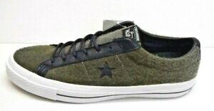 Converse Woolrich Size 8 Gray Wool Sneakers New Mens Shoes