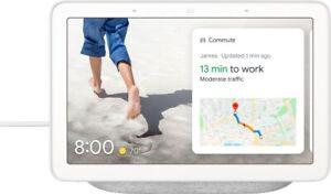 Google Nest Hub Smart Display with Google Assistant - Chalk