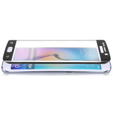 ^ 3D Curved Schutzfolie Echt GLAS 9H FULL SCREEN Samsung Galxy A7 2018 Schwarz