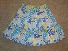 Gymbroee Sea Splash Floral Long skirt Sz 7 EUC