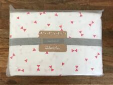 The Land of Nod 100% Organic Cotton Twin Sheet Set in Lightly Triangle (255692)