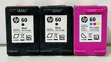 HP Genuine 60 (2)B/C Cartridges NB Exp.2020-2021 HP Deskjet 460,6840,9800
