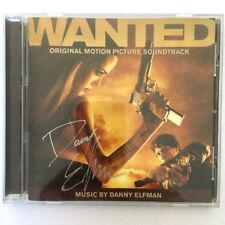 DANNY ELFMAN Signed WANTED Movie CD Soundtrack