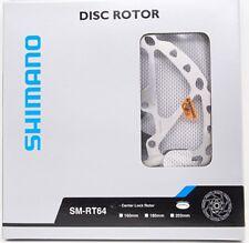 Shimano Deore Sm-Rt64-M Center Lock Disc Brake Rotor 180mm w/ Lockring Nib