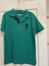 Boys US  Polo Shirt ASSN. Age 14-16 Good Condition Worn Once