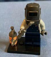 LEGO Collectable Mini Figure Series 11 Welder - 71002-10 COL172 R50