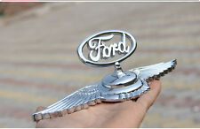 3D Zinc Alloy Luxury Stand Car refiting Decoration  logo Hood emblem for Ford