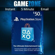 PlayStation PSN $50 USD Wallet Top Up Card - USA Store - Instant Code PS4/PS5