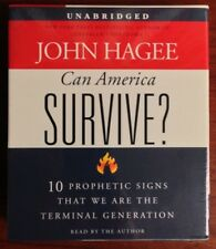 John Hagee CAN AMERICA SURVIVE CD Audiobook Audio Book NEW UNABRIDGED