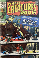Where Creatures Roam #1 (Jul 1970, Marvel)