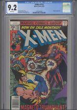 Uncanny X-Men #112 1978 Marvel CGC 9.2 Magneto App Byrne & Austin Art:New Frame