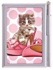 Maranda à pois kitty chaton bloc-notes & stylo sac à main femmes fille usnp152