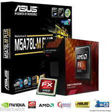 AMD FX6300 CPU ASUS M5A78L-M PLUS USB3 MOTHERBOARD GAMING UPGRADE BUNDLE