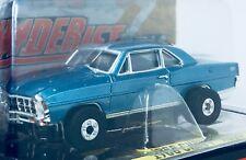 Auto World '66 Chevy Nova SS, Marina Blue, ThunderJet Ultra G Chassis -New/Cube