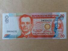 Philippines 20 Piso 2007 (UNC) QW 994232