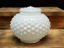 Vintage Hobnail Light Shade White Ceiling fan Wall Mount Replacement