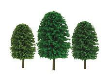"JTT SCENERY 92036 SUPER SCENIC EVERGREEN TREES 5"" to 7"" O-SCALE 12/PK JTT92036"
