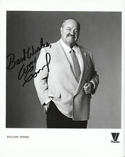 "WILLIAM CONRAD  Autographed  Reprint 8"" x 10"" glossy photo print"