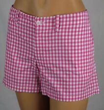 Ralph Lauren Sport Pink White Checkered Shorts NWT 14
