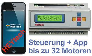 RS879M (+LAN, APP) Rollladensteuerung Rolladensteuerung Haussteuerung Heytech