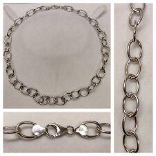 Joli (E) chaîne en argent 925 court collier d'argent bijoux