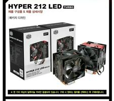 CoolerMaster HYPER 212 CPU COOLER Fan size: 120mm 25T Bearing Rifle 4 pin +FREE