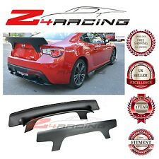 For 13-16 Scion FRS & Subaru BRZ Rear Trunk Spoiler Lip Wing Kit Bunny Style V2