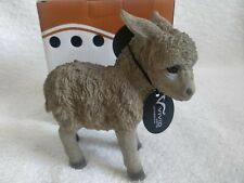 Indoor//Outdoor Home//Garden Ornament Baby Donkey Vivid Arts Chocolate