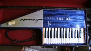 WELTMEISTER BASSET  / KEIN RHODES PIANO BASS HOHNER PIANET WURLITZER
