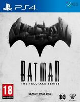 Batman The Telltale Series Season Pass Disc PS4 * NEW SEALED PAL *