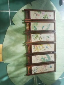 Vintage Chinese Color Silkscreen
