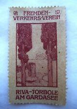 ANCIEN TIMBRE VIGNETTE RIVA - TORBOLE AM GARDASEE / ITALIE