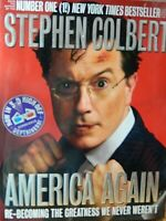 Stephen Colbert America Again 3D Has Glasses 2012 First Edition  Hardback