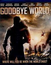 BRAND NEW  BLU-RAY // GOODBYE WORLD // ADRIAN GRENIER, KERRY BISHE
