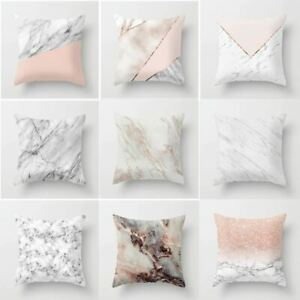 Geometric Cushion cover Marble Texture Throw Pillow Case Cushion Cover For Sofa