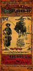 Pendleton Oregon Round Up Rodeo Western Poster by Bob Coronato
