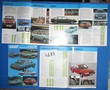 N°4289 / catalogue gamme Austin Rover : mini,metro,montego,maestro  1985