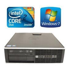 HP Elite 8000 SFF Desktop PC Computer Core 2 Duo E8400 4G 160G DVD Win 7 Pro