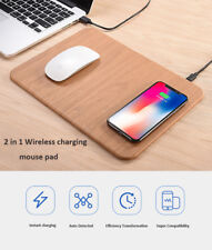 Wireless Desktop Fast Charger Charging Mouse Pad Mat for Samsung S7/S8 iPhone X