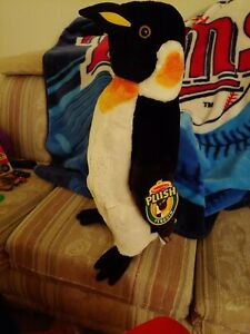 "PLUSH PENGUIN 24"" TALL MELISSA & DOUG, LIFE-LIKE, SOFT AND HUGGABLE, FUN FOR ALL"