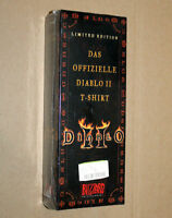 Diablo 2 II Extremely Rare Limited Edition T-Shirt One Size XL Blizzard 2000