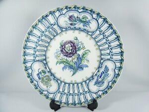 Antique Victorian Edwardian Bisto England Bow Large Serving Soup Bowl Dish Plate