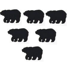 JESSE JAMES BUTTONS ~ DRESS IT UP - BLACK BEARS 42618- Sew Craft Quilt